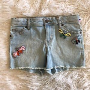 Cat & Jack butterfly shorts